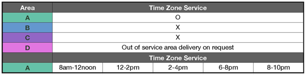 yamato timetable services