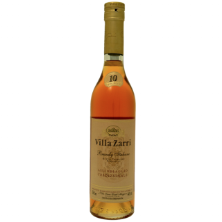 Villa Zarri Italian Brandy 10 years old