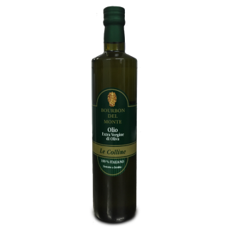 "Extra-virgin olive oil  ""Bourbon del monte"""