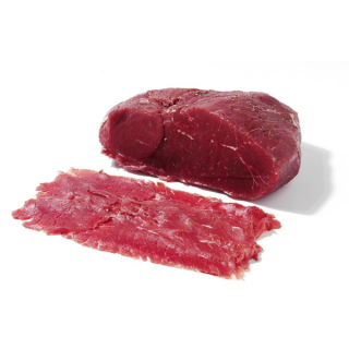 Beef Carpaccio sliced