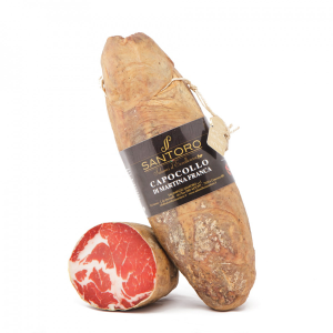Capocollo di Martina Franca Sliced - Slow Food Presidium