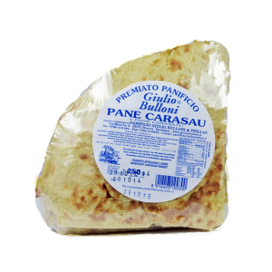 Carasau bread in quarters