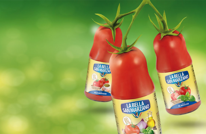 The ready-made sauces of La Bella San Marzano preserve the freshness and goodness of the freshly harvested tomato full of genuine ingredients and quality.