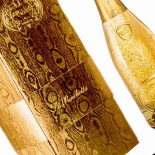 Etoile Spumante Brut with 24 karat gold
