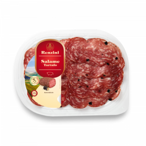 Pork salami with Truffle Tray 70g Renzini