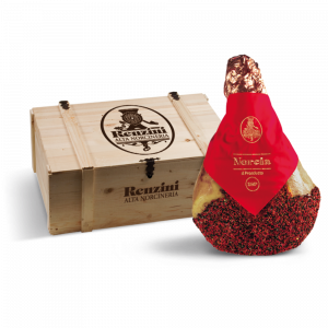 Prosciutto di Norcia IGP-Norcia Red & Black Pepper