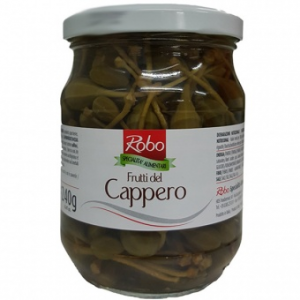 Capers Flower Buds in Vinegar (Caperberry) 540 gr