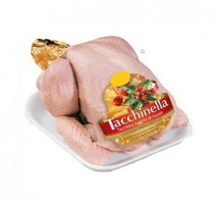 Fresh Italian free-range female turkey 6kg ca
