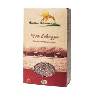 Organic Red Wild Rice - 1 Kg/bag