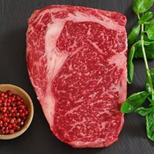 Full Blood Wagyu Rib Eye M9+ 300gr