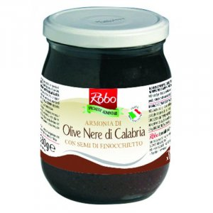 Calabrian BlackOlives cream Armonia w/ fennel seed 530g