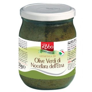 Green olives cream Armonia 530gr Robo
