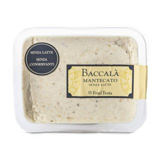 Baccala` Mantecato (codfish in Venetian style recipe) - Ready to Eat 130gr