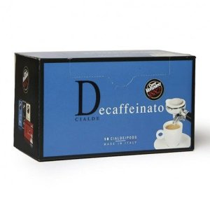 Decaffeinated coffee pods Vergnano 1882