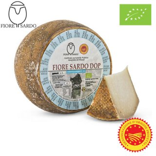 Fiore Sardo DOP Organic sheep's milk cheese