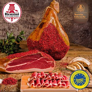 Norcia Cured Ham IGP sliced