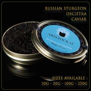 Russian Sturgeon Oscietra Caviar