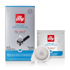 E.S.E. Coffee Pods Decaffeinated illy Blend, CLASSICO roast Decaffeinated