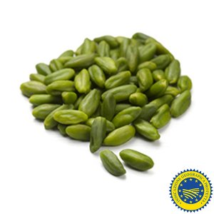 Shelled and Peeled Sicilian Raw Bronte Pistachios IGP