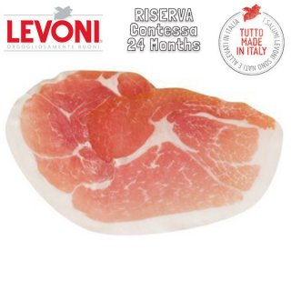 San Daniele DOP Contessa Riserva 24 Months Cured Ham sliced