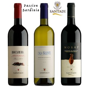 Passion Sardinia Island wines - 3 bottles