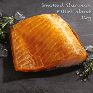 Smoked Sturgeon Fillet 1kg