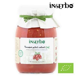 Organic Peeled Tomatoes in sauce 950g