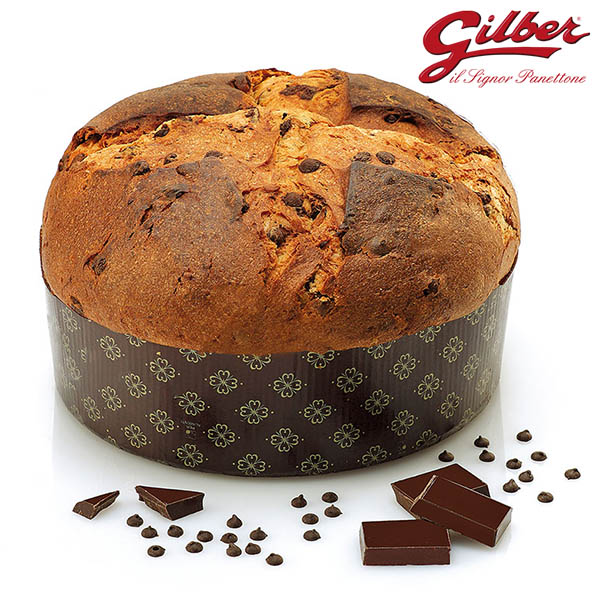 Gilber Panettone Chocolate Drops 1kg detail