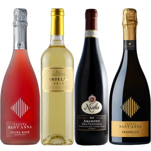 Veneto Bubbles and Firm Wine package
