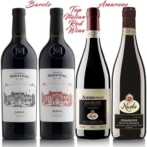Top Italian Red Wine package